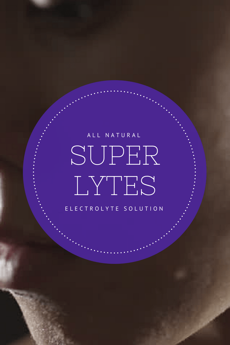 All natural super lytes - the electrolyte solution