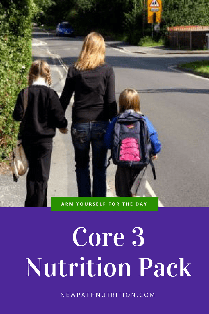 Core 3 nutrition pack, because healthy skin starts with good nutrition