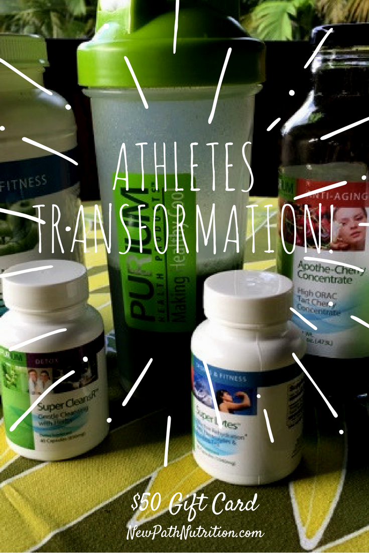 Puriums 10 Day Athletes transformation pack - get results