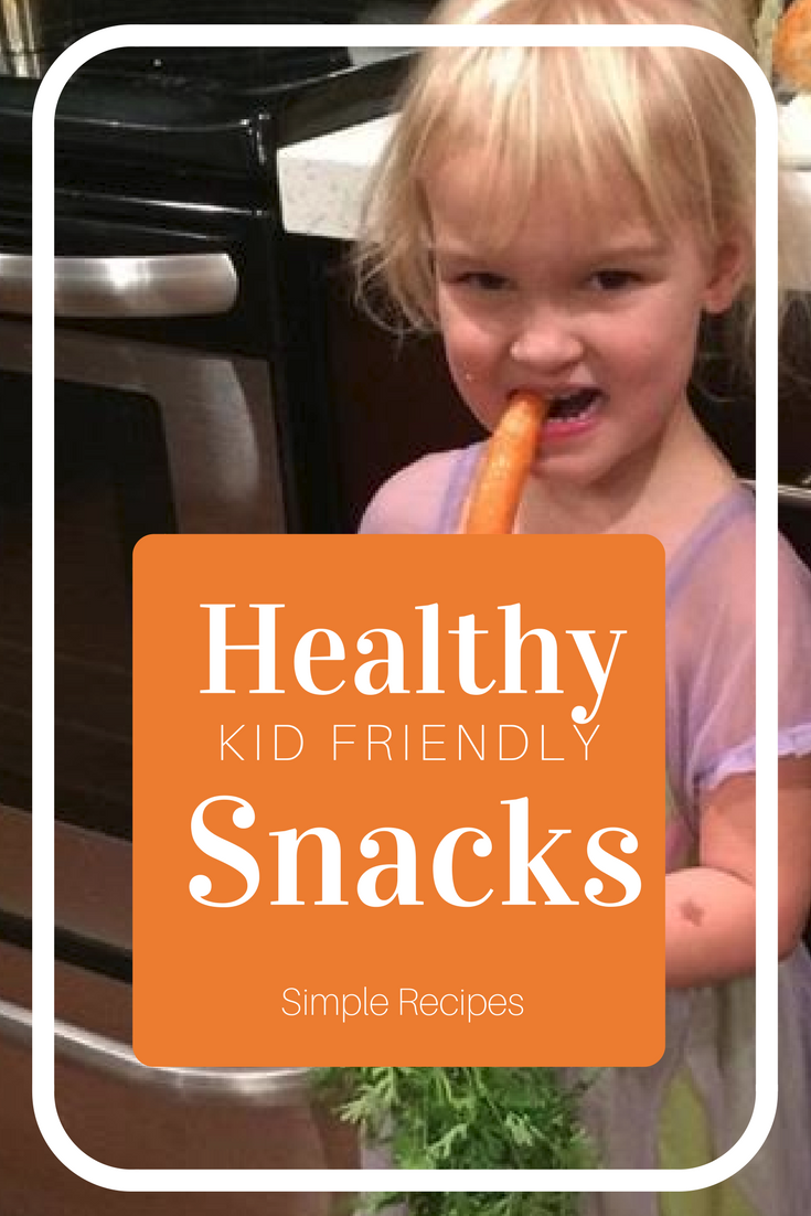 creative healthy snacks for kids - simple kid friendly recipes