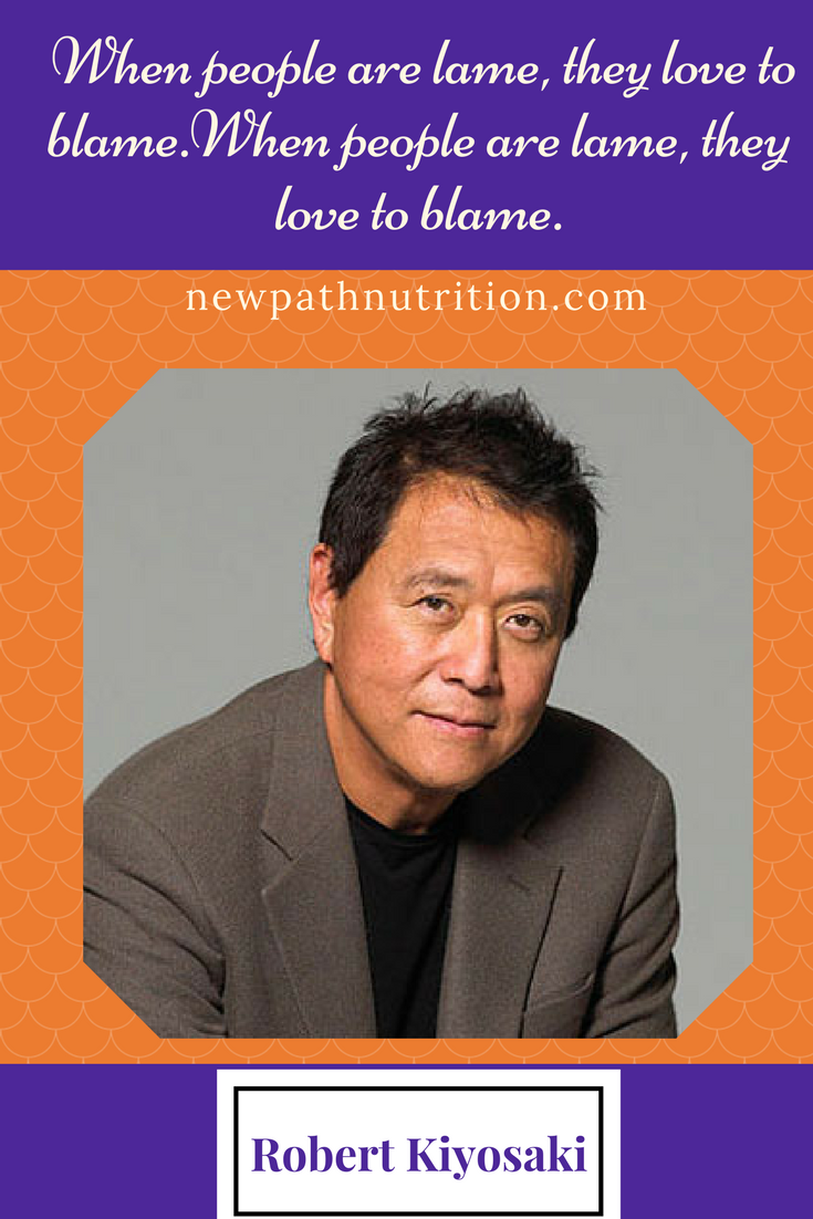 Robert Kiyosaki stand up and fight