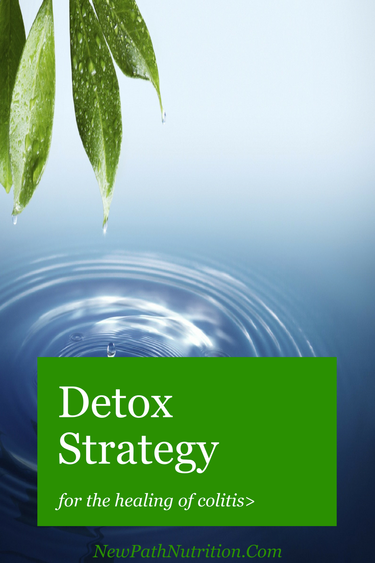 Detox strategy for dealing with colitis