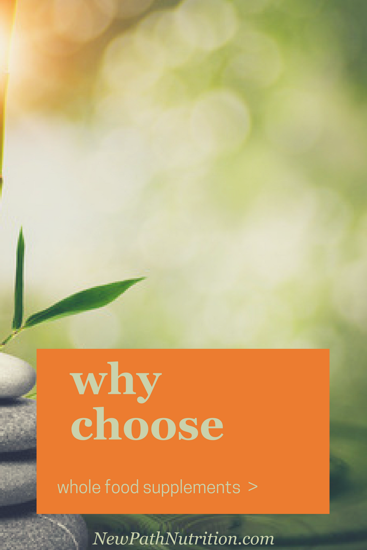 why choose whole food supplements