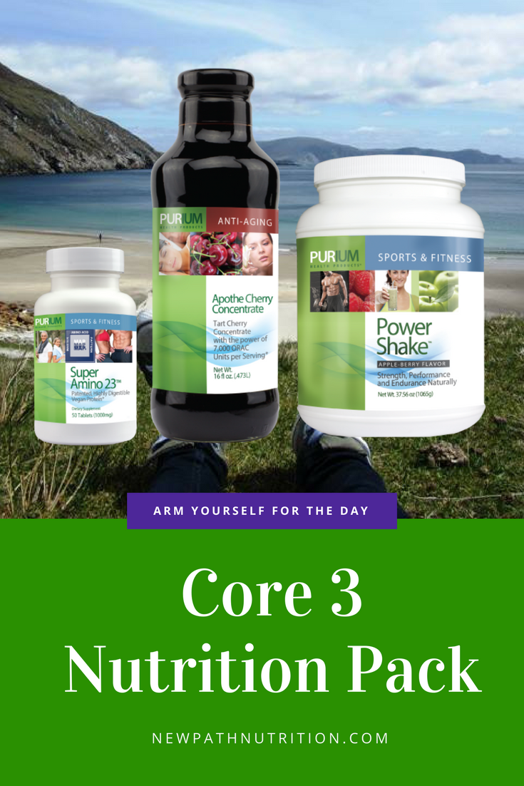 Purium Core3 Nutrition Pack prepares you for life
