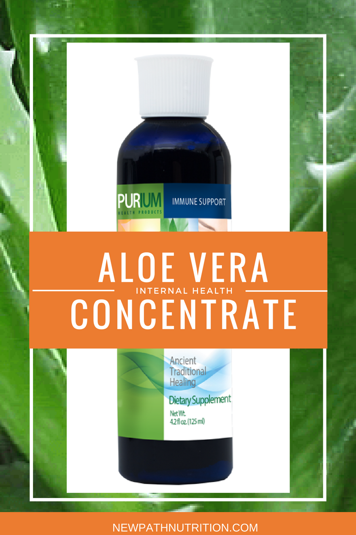 aloe vera concentrate for internal health
