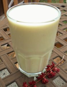 Banana Pinepple Smoothe recipe