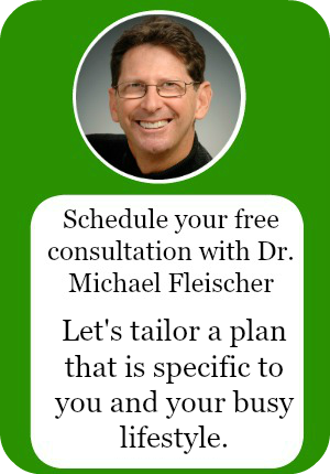 Get your free consultation iwth Dr Michael Fleischer. Let's get your health back on trac