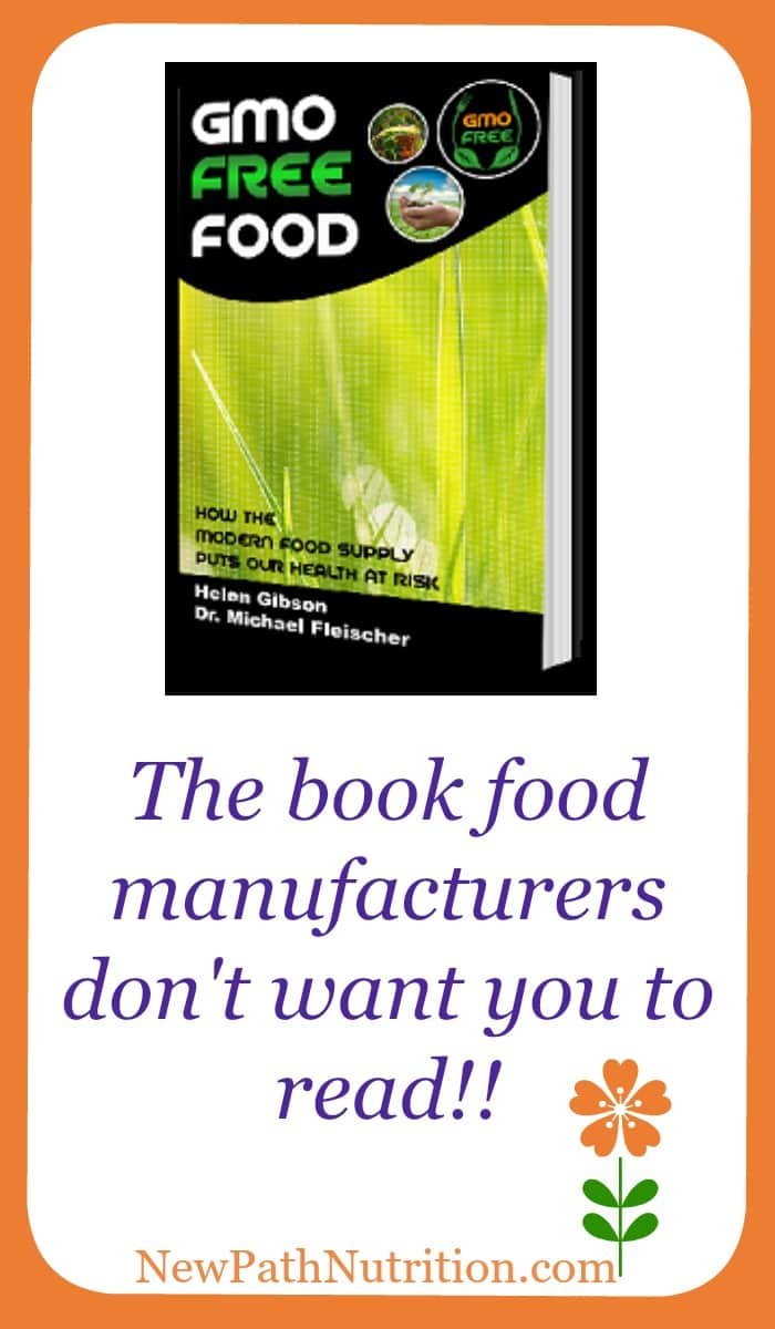 The GMO Free Food book food manufacturers don't want you to read