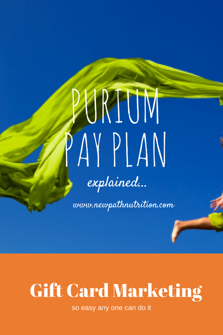 Purium compensatin plan, how does it work?