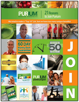 21 reasons to join purium
