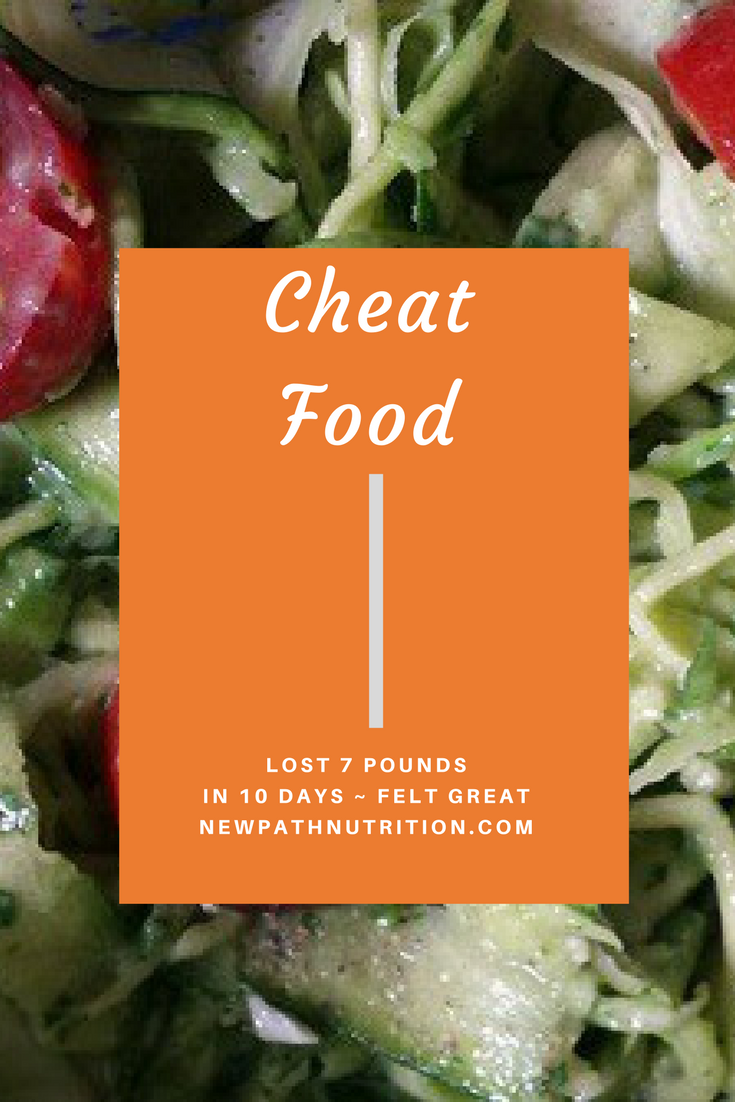 cheat food recipes for losing weight