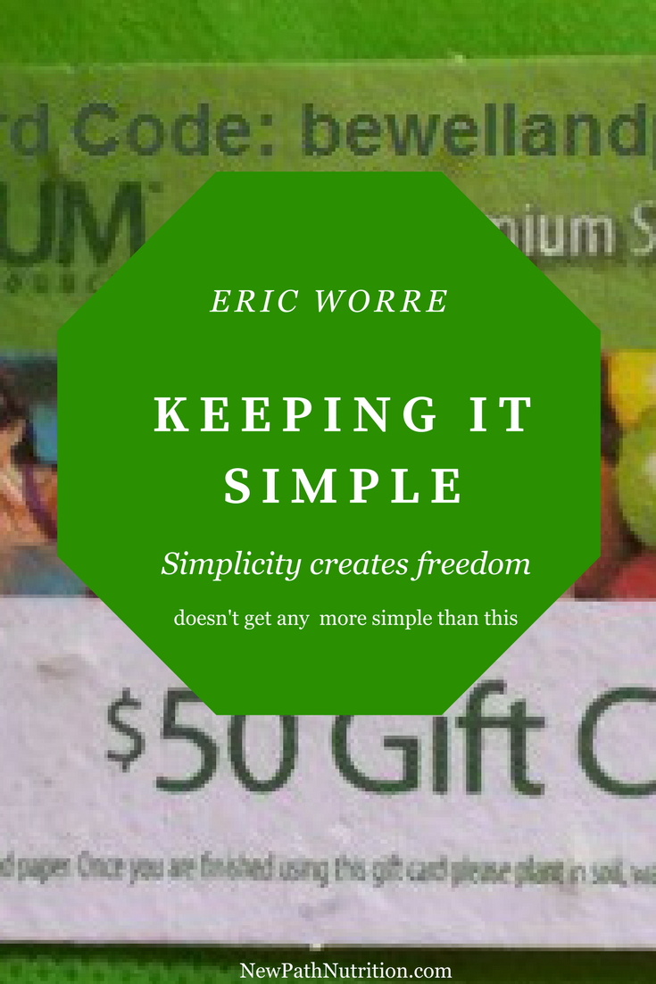 Keeping it simple - gift card marketing