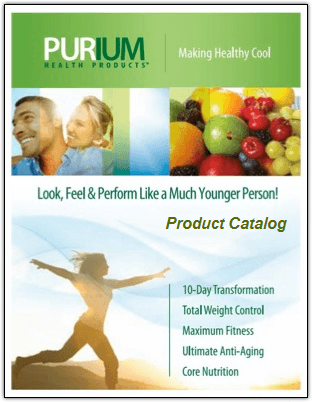 Purium Product Catalog